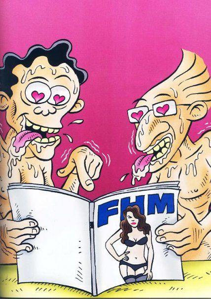 Benny & Mice di FHM Magazine