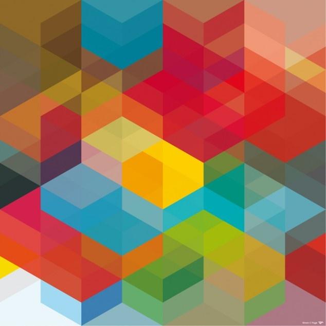 Geometric Colour Pattern 5
