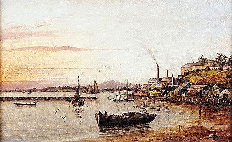 Foreshore St Mary's Bay, Auckland, Albert E Aldis