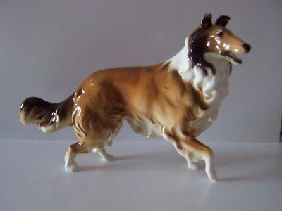 HUTSCHENREUTHER porcelain Collie