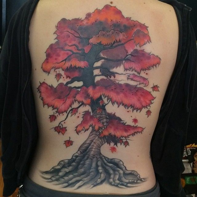 150 Insanely Beautiful Tree Tattoos And Their Meanings nice