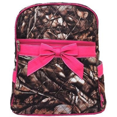 Natural Camo Backpack I want this for my backpack purse lol
