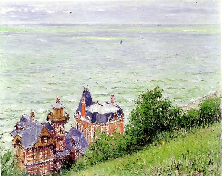 G. Caillebotte - Villas à Trouville - Gustave Caillebotte - Wikipedia, the free encyclopedia