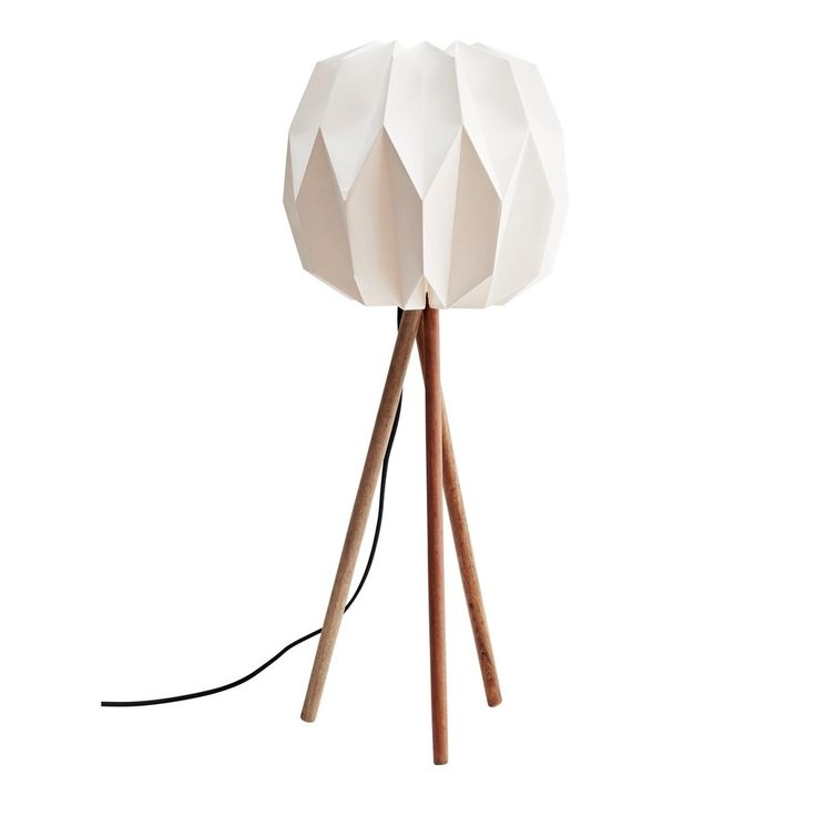 Madam Stoltz Tafellamp 70 cm - Wit