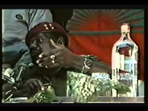 Eu sou acima de tudo Nacionalista,e nao posso aceitar que me Egilem, Jonas Savimbi - YouTube