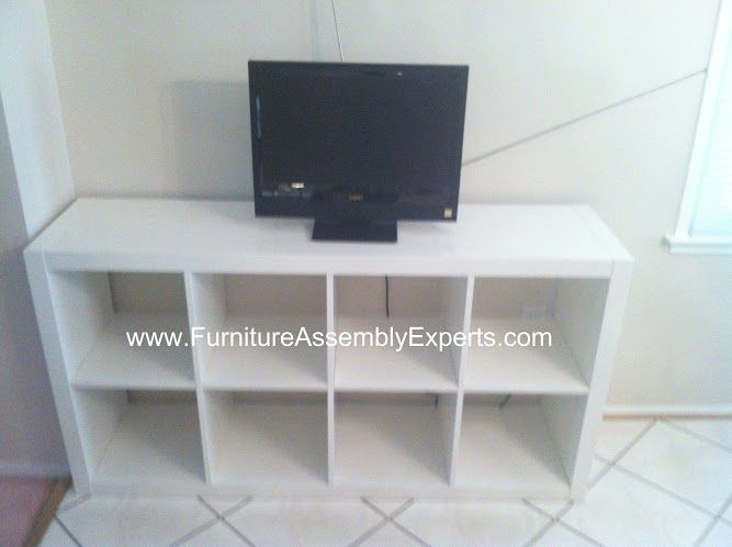 Ikea Expedit Tv Stand Assembled In Philadelphia Pa By Furniture Assembly Experts Llc
