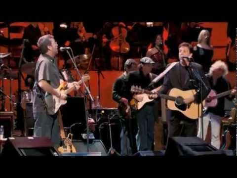 ▶ Paul McCartney and Eric Clapton-Something Tribute to George Harrison - YouTube