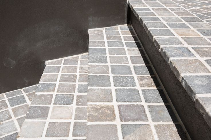 Oyster Limestone cobblestones are supplied with a mesh backing, which makes them easy and cost effective to install. Visit our website to learn the various characteristics of each stone and receive individual assistance in choosing just the right product to beautify your home and garden.  #cobblestones #cobbles #drivewaypavers