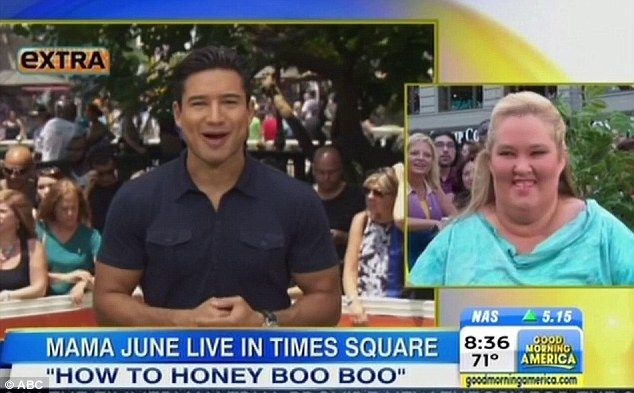 Mama June receives message from Mario Lopez on Good Morning America