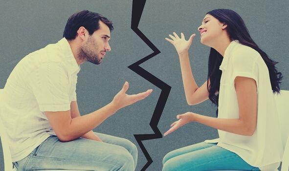 Resultado de imagen para parejas discutiendo imagenes