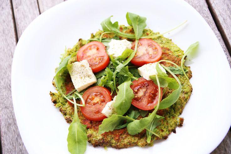 Brokkoli Pizzaboden | Fit Trio Food & Fitness Blog aus Hamburg