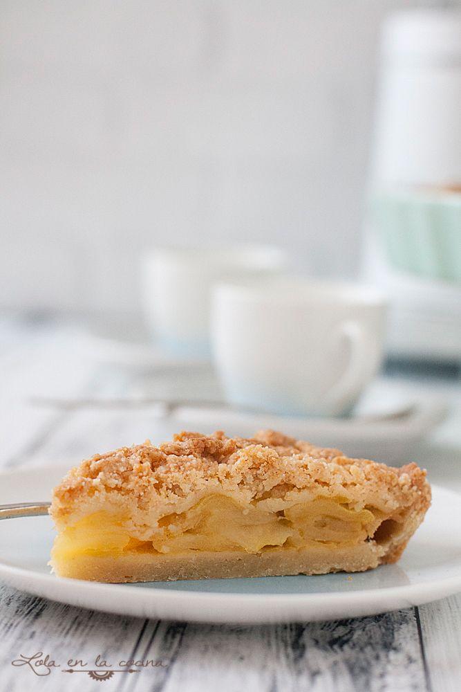 Lola en la cocina: Tarta de manzana a la francesa