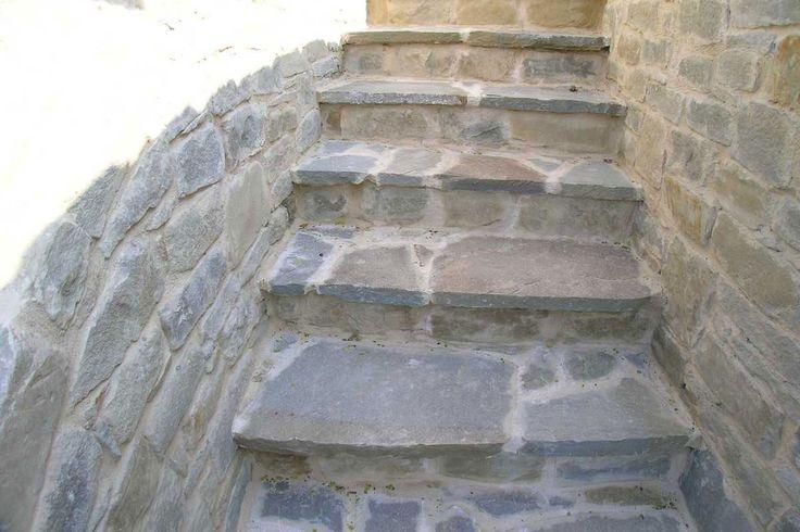Oltre 20 migliori idee su scale da giardino su pinterest passi paesaggio scale esterne e - Scale da esterno in muratura ...