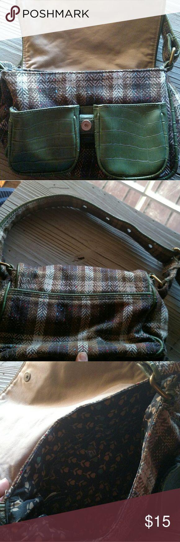 Gap purse Gap handbag green plaid GAP Bags Mini Bags