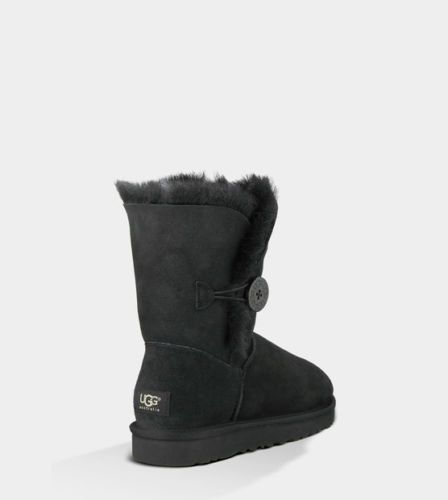 $146.99 UGG Women's Bailey Button Black 5803 w Blk Sheepskin Boot | eBay  10% of all Quello Finds sales go to charity! Who could you help by looking great?