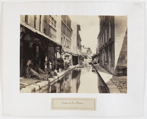Cours de la Bièvre, près de la rue du Pont-aux-Biches, 5ème arrondissement, Paris | Paris Musées