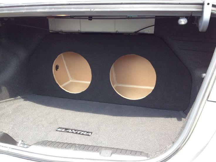Details About For 2011  Hyundai Elantra Custom Sub Box