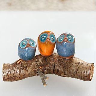 Ev dekorasyon fikirleri, iç tasarım, obje,nesneler, aksesuarlar, seramik, cam, baykuş, at, melek, çiçek, nar,ev tekstili, pamuk keten pareo, plaj havlusu Türk peştemal - 3 Baykus Mavi Sari Mavi