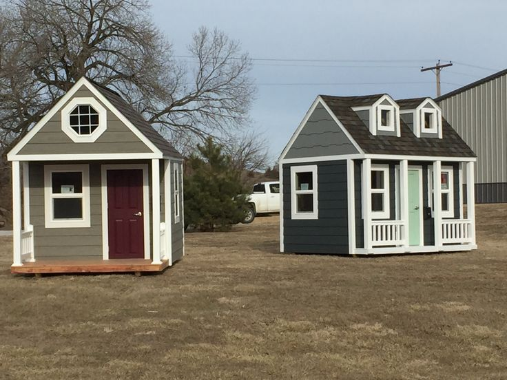 Playhouses for Sale!  We will insulate, sheetrock, and make whatever additions you may wish to add!