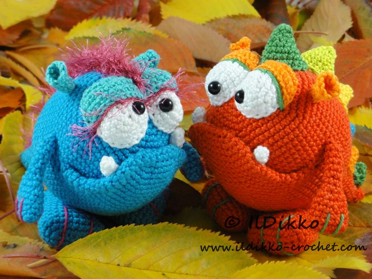 Monty and Myrtle the Monsters – Amigurumi Crochet Pattern |