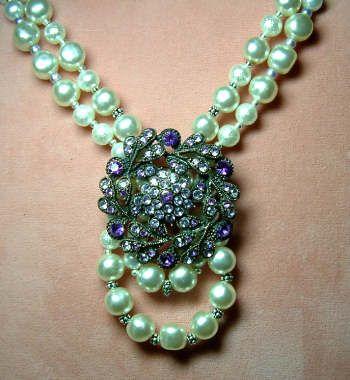 costume jewelry redoux necklace