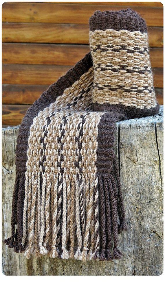 Bufanda de alpaca echarpe mantón bufanda por TelaresNUEVOMUNDO