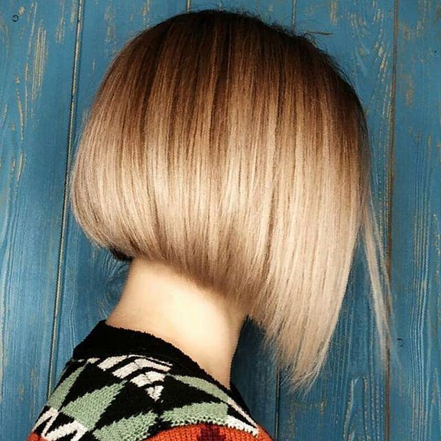 64 Beste Bob Frisuren Stufig Hinterkopf In 2020 Bob Frisur Frisuren Kurze Haare Bob Mittellange Haare Frisuren Einfach