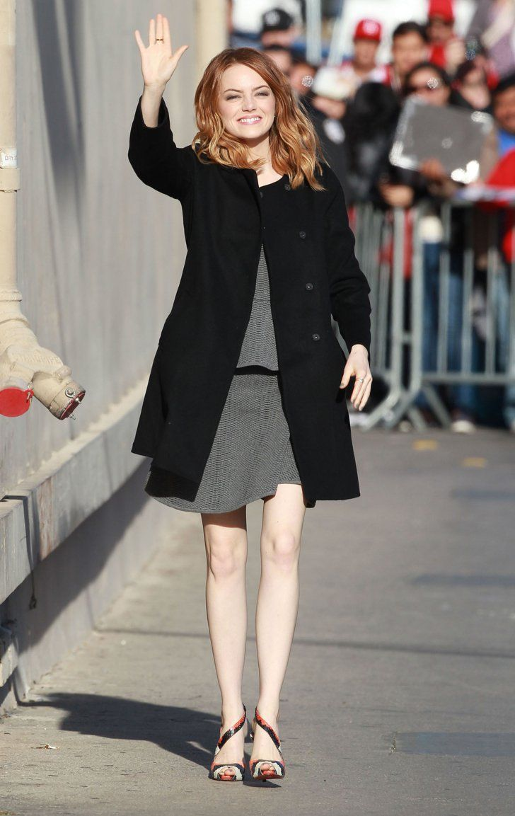 Pin for Later: Emma Stone Has Totally Perfected the Royal Wave