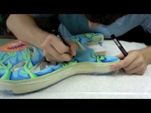 How to Customize a Guitar with Posca Pens