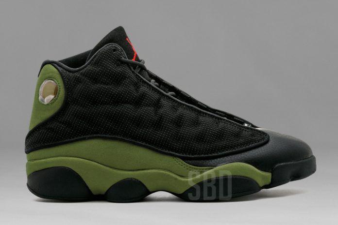 e7a383b7616 Air Jordan 13 Olive 414571-006 Release Date | Shoes | Jordans, Fall ...
