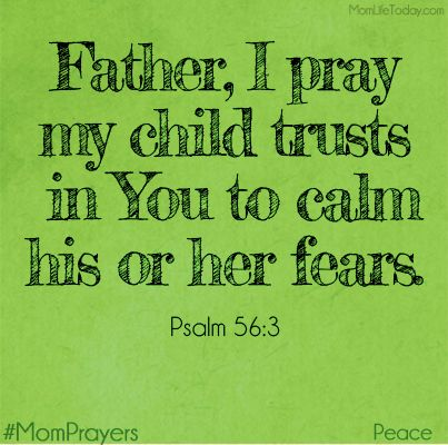 Peaceful Mom Prayers – Trust