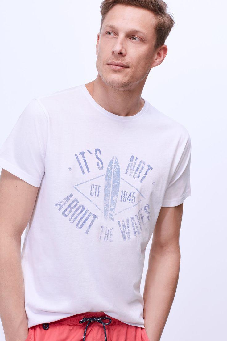 Espelho meu: T-shirts com personalidade #Espelho #meu: #Tshirts com #personalidade /  #TSHIRT #estampado #cortefiel #saldos