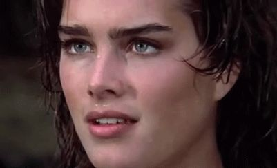 New party member! Tags: stare staring brooke shields vacant stare