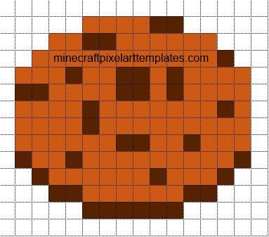 Minecraft pixel art kuchen