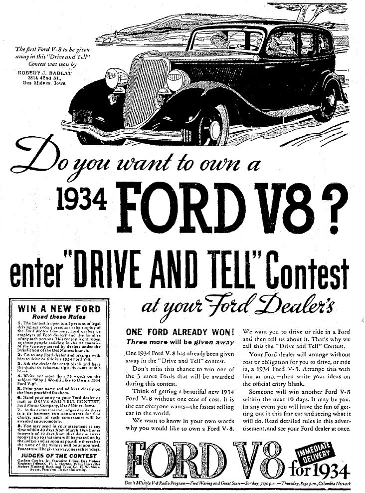 V8 Madness: Five Great V8-Loving Vintage Ads | The Daily Drive | Consumer Guide®…