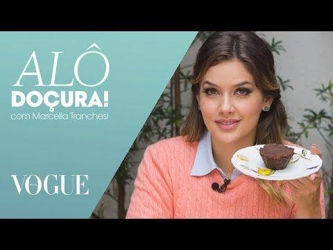 Como fazer um brownie fit que leva apenas três ingredientes / Alô Doçura / TV Vogue - YouTube