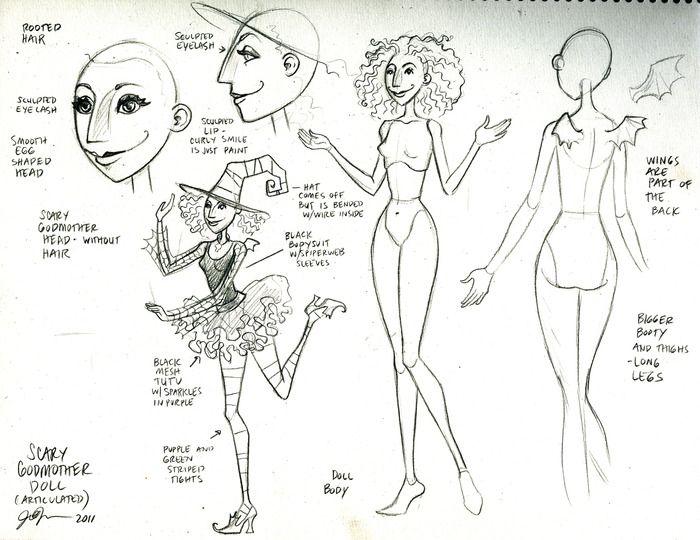The Scary Godmother Doll by Jill Thompson — Kickstarter