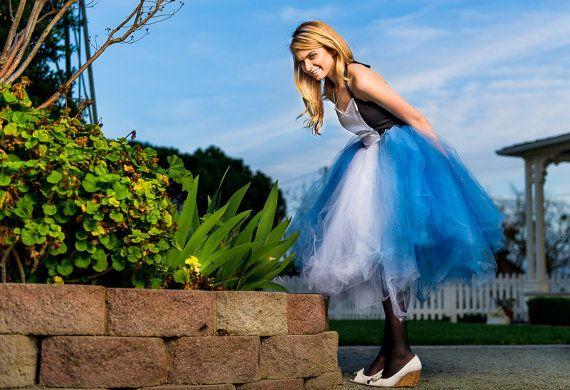 Alice in Wonderland adult tutu dress Alice in by TutuHot on Etsy, $140.00