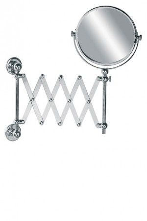 For those hard to reach places, get a perfect shave with this Lefroy Brooks Edwardian extendable shaving mirror.