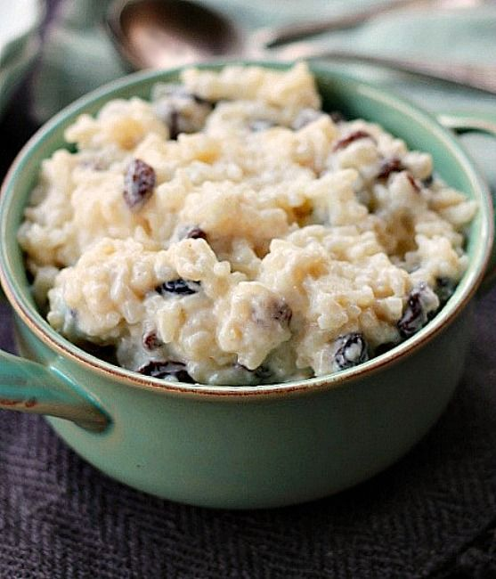 Old Fashioned Rice Pudding Made With Minute Rice