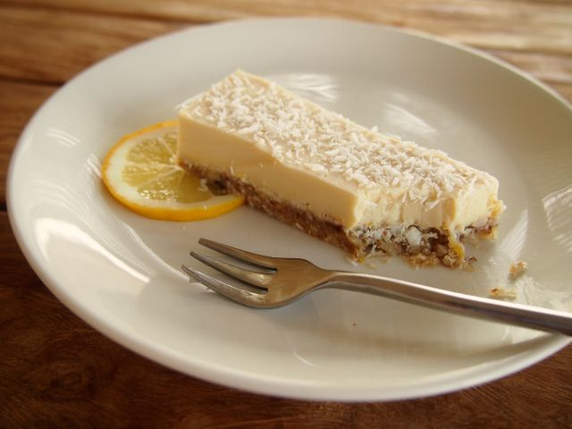 Tangy Lemon Tart (Gluten, Dairy, & Refined Sugar Free) #HungryCub