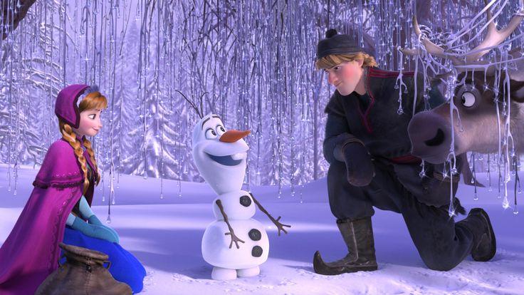 Erste Begegnung mit Olaf  Die Eiskönigin (2013) | Bilder | Offizielle Disney Website Deutschland