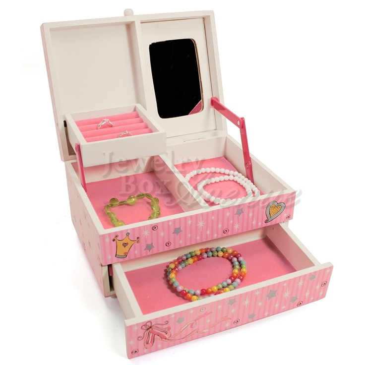 Divas Only Deluxe Pink Musical Jewelry Box  sc 1 st  Pinterest & 39 best Childrenu0027s Jewelry Boxes images on Pinterest | Boxing ... Aboutintivar.Com
