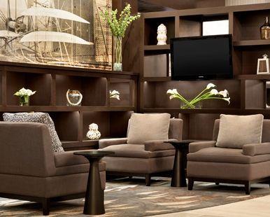Hilton Greenville Hotel, Greenville, NC - Renovated Lobby | NC 27834