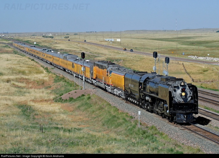 Union Pacific in Cheyenne, Wyoming