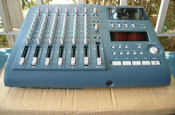 NOS Tascam Portastudio 424 MKIII 4-Track Cassette Tape Recorder W/Box NR #TASCAM
