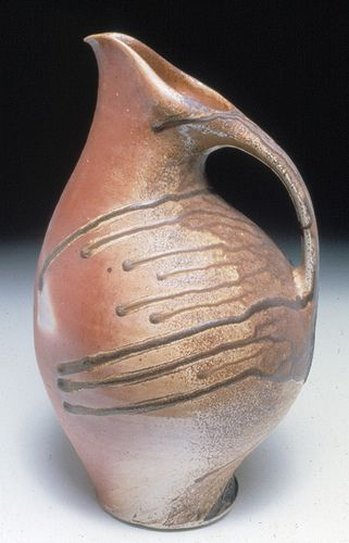 Kris Nelson wood fired pitcher.jpg by clayglazepots, via Flickr