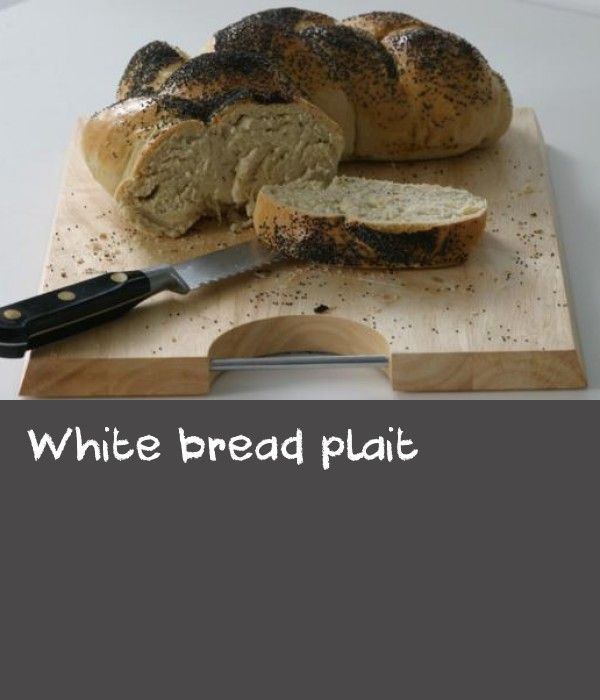 White bread plait |      Try this step-by-step recipe for making your own bread.