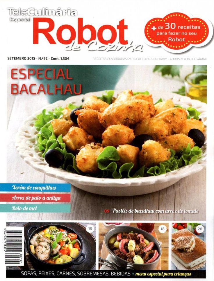TeleCulinária Robot de Cozinha Nº 92 - Setembro 2015