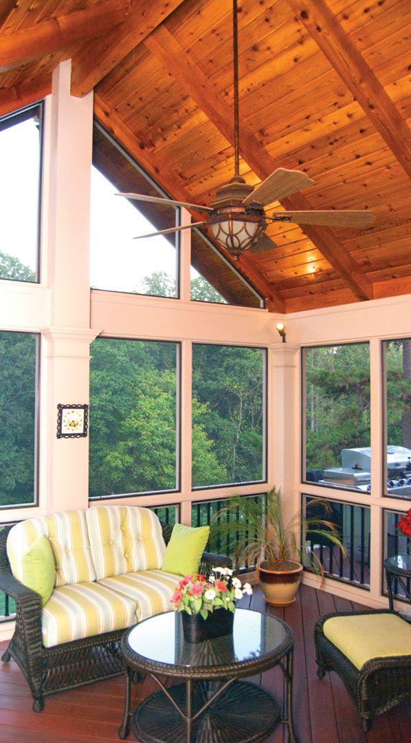 Deck And Patio Combination Designs: Best 25+ Enclosed Decks Ideas On Pinterest
